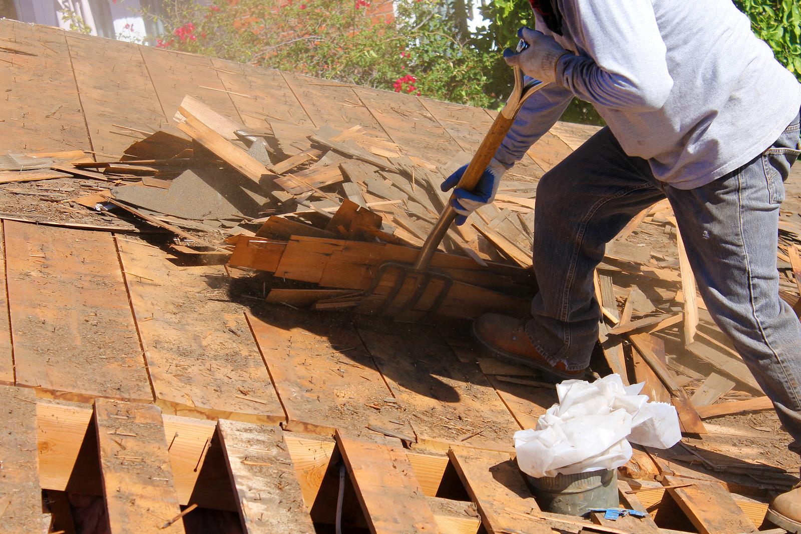 Tearing Off Old Roof Vs Roofing Over Winston Salem