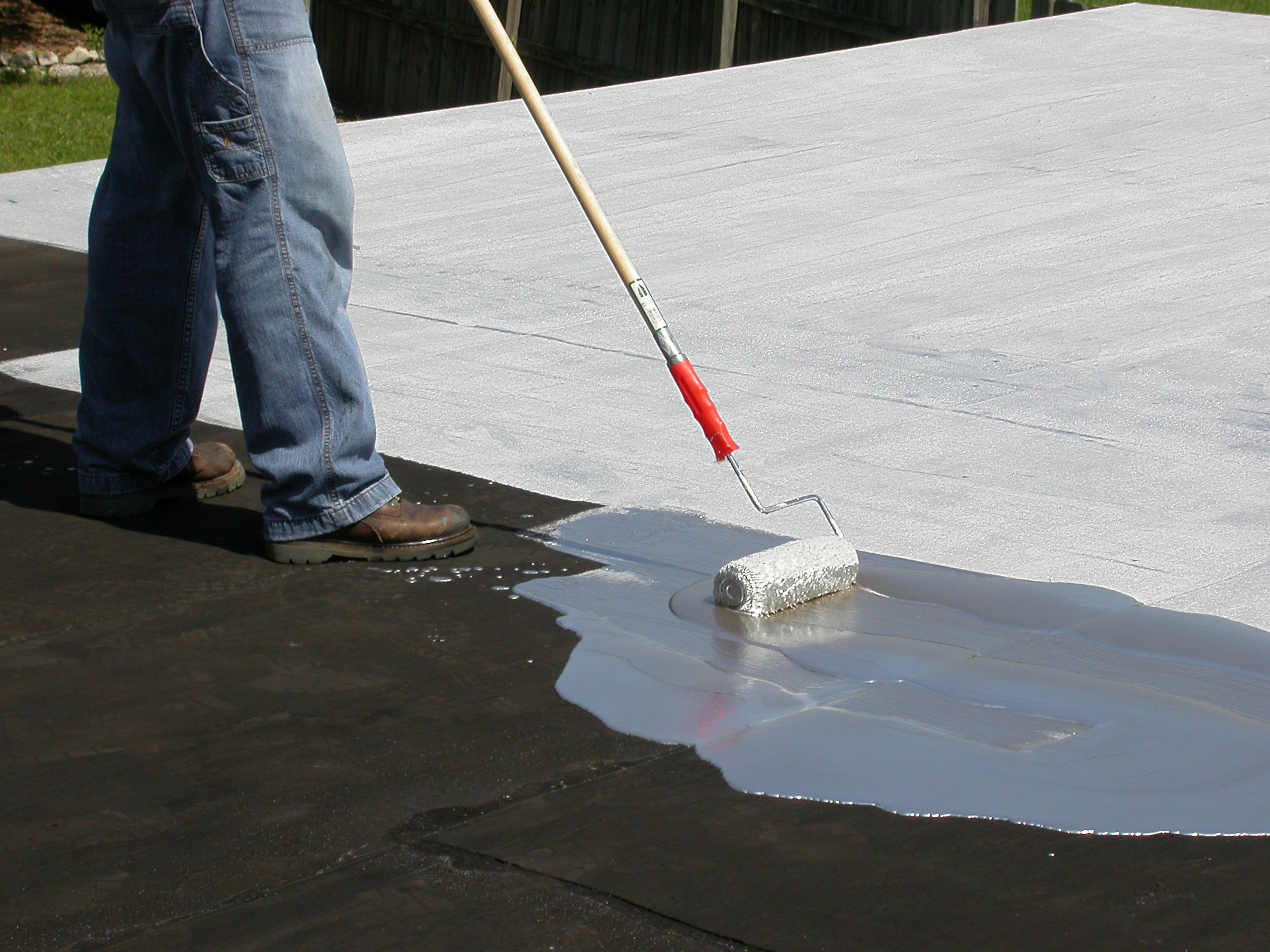 When is it a good time to do roof coating winston salem for Flat roof waterproofing paint