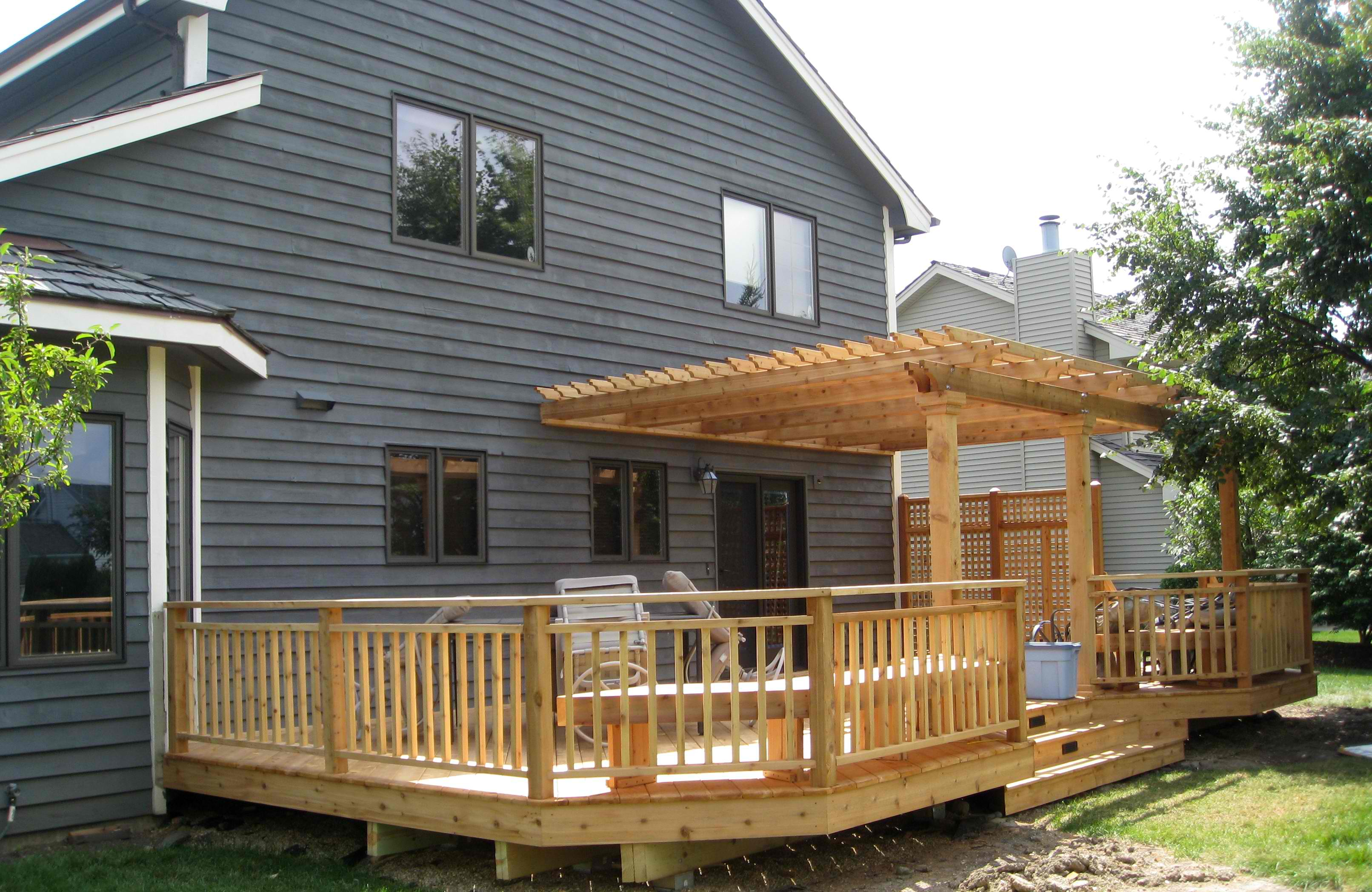 Decks & Light Construction Projects | Winston Salem ... on Patio With Deck Ideas id=58281